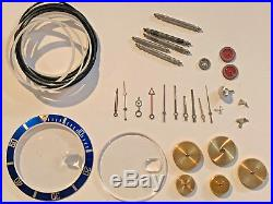 Genuine Rolex Submariner/GMT Master Insert Crystal Hands Fork Authentic Parts