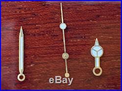Genuine Rolex Submariner/GMT Master Insert Crystal Hands Fork Box Case Parts