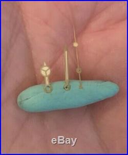 Genuine Rolex Submariner Tritium Hands Gilt FLAT Vintage Fits 1030 1520 1570