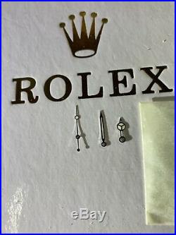 Genuine Rolex Vintage Luminova Hands Submariner 16800,14060,16610 Original Nos