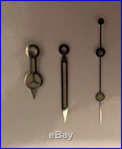 Genuine Rolex Vintage Submariner Gmt Radium Flat Steel Hands 5513 5512 1680 1665