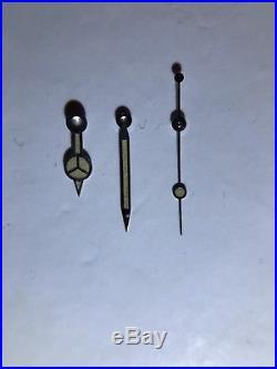 Genuine Rolex Vintage Submariner Gmt Radium Steel Hands 5513 5512 1016 1680 1570