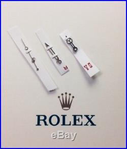 Genuine Rolex White Gold Hands For Ceramic Submariner 3135 116610 LN LV 116619