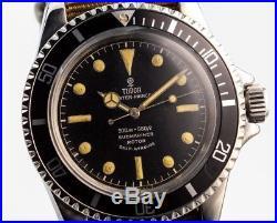 Genuine Tudor Submariner Vintage Tritium Hands 7016 7928 7909 Nos