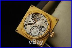 Great stage TIFFANY & Co LEMANIA 8 DAYS POCKET WATCH MOVEMENT with DIAL, HANDS