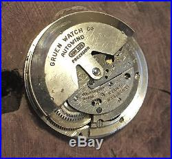 Gruen Ocean Chief vintage dive watch case crystal ring hands & used 560 movement