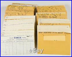 HUGE Vintage Parts System of Timex Hands out of a Watchmaker's Estate