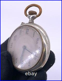 H. Rosskopf & Co Patent Hand Manuale Vintage 46,5 MM No Funziona For Parts Pocket