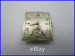 Hamilton 14k Gold Filled Hand-Winding Watch Mvmt 753 19J/for Parts or Repair