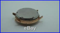 Hand Winding Chronograph Movement Landeron Cal. 248 Working For Parts Or Repair