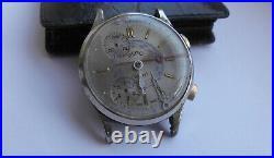 Herren REGO Sport Chronograph Handaufzug Vintage 60er Swiss Uhr defekt/Parts