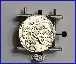 Heuer Temporada Dial Hands Set With Valjoux 7733 Movement New Old Stock Serviced
