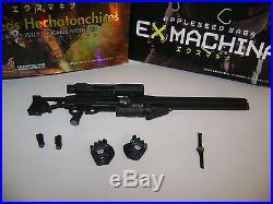 Hot Toys 1/6 Appleseed EX Machina Briareos parts big gun, watch, box, hands ++