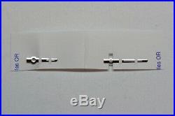 Hour and Minute Hand Genuine Rolex Daytona Superluminova Ref. 116520 4130