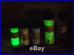 Huge Lot of Luminous Radium Salts Paint for clock & Watch hands and dials LOOK