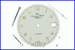 IWC Automatic Vintage Silver Watch Dial 28.4 mm Cal. 375 incl. Hands (ZB512)