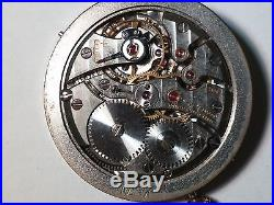 IWC movement CAL 89, vintage, semi-functioning, with dial and 2 hands, crown