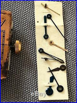 Jaeger Lecoultre Vintage 407 Complete Movement Used For Part + Lot Lady Hands