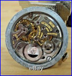 KEEPING TIME! LeCoultre Caliber 480/CW Movement-Dial-Hands-Stem-Crown-Washer