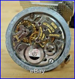 KEEPING TIME! LeCoultre Caliber 480 Movement-Dial-Hands-Stem-Crown-Washer