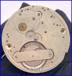 L. Juillard Genève Hand Manuale Vintage 45,2mm Pocket Watch No Lavora For Parts
