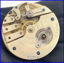 L. Juillard Genève Hand Manuell Vintage 45,2mm Pocket Uhren Nicht Paßt Für Parts