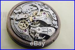 Landeron 48 Vintage Chronograph Movement Dial Hands Complete PARTS (A114)