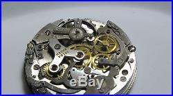 Landeron 48 Vintage Chronograph Movement Dial Hands Pushers Complete PARTS (12)