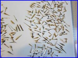 Large Lot of Vintage Watch Parts Watch Hands part repair