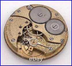 Longines 1869 N Vintage Hand Manuale Pocket Movement Tasca 40mm For Parts 3WC