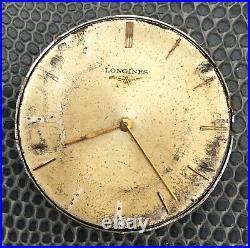 Longines 19.4 NO Funciona For Parts Hand Manual 31,5 mm Vintage Watch Reloj