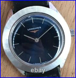Longines 847.4 No Funziona For Parts Hand Manuale 34 MM Vintage Watch Orologio