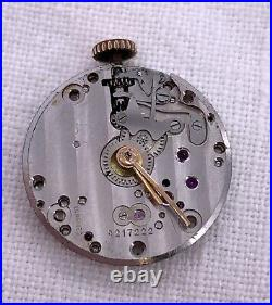 Longines 8.68 ABC Hand Manual 19,5 mm NO Funciona for parts Balance OK watch