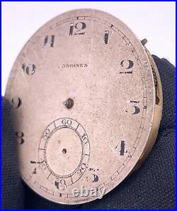 Longines Cal. 18.69N Hand Manuale Vintage 41,4mm No Funziona 4 Parts Volano Roto