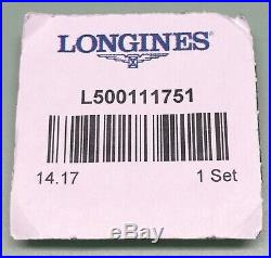 Longines Hands Set For Eta Valjoux 7751 Automatic Chrono Swiss Color Blue New