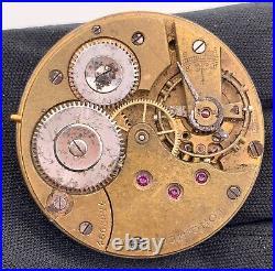 Longines Kal. 18.69N Hand Manuell Vintage 41,4mm Nicht Paßt 4 Parts Lenkrad Roto