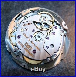 Longines L990.1 watch parts case crystal crown stem dial hands back