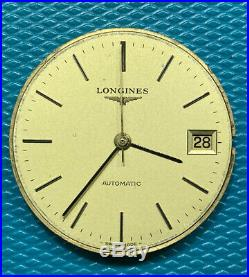 Longines L 990.1 movement working for parts Or project Vintage + Dial + Hands