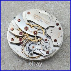Longines Pocket Watch Movement Grade 18.95M 17LU Spare Parts Dial Hands