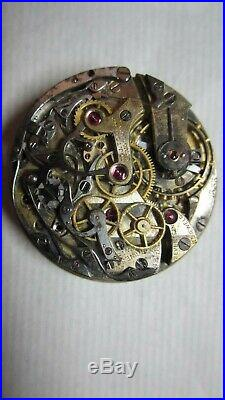 Longines RARE 13.33 Chronograph Movement, Dial and all hands Parts /Spares