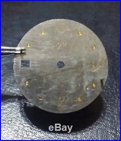 Lorenz 17077 part dial + hands submariner Men's, luminova antracite