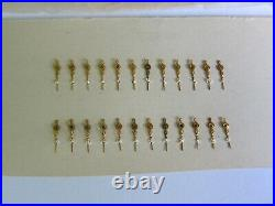 Lot of 24 Vintage Watch Hands Sub Second Hands Watchmaker Parts Repair NOS