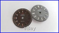 Lot of Omega Chronostop Parts Dials + Hands + 865 Movement Parts Repairs