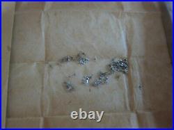Lot of Vintage Bulova 7AK Wristwatch Sub Second Hands NOS Parts Repair