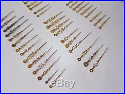 Lot of Vintage Pocket Watch Hands Watchmakers parts