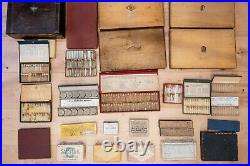 Lot of Vintage Watch Parts hands, washers, staffs, crystals, stems, o-ring, etc