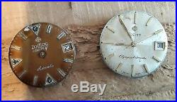 Lot zodiac parts Olympos seawolf dial hands movement