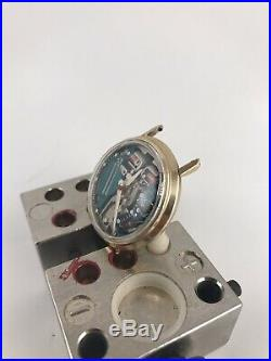 M8 Gold Filled Accutron Spaceview Red Second Hand Parts or Repair