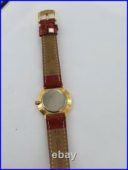 Michel herbelin handaufzug slim- vergoldet for parts or repair g320