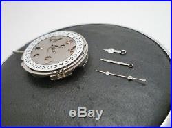 Military Vintage Raised dial Submarine case Dial, Hands 316L 5513, DG2813
